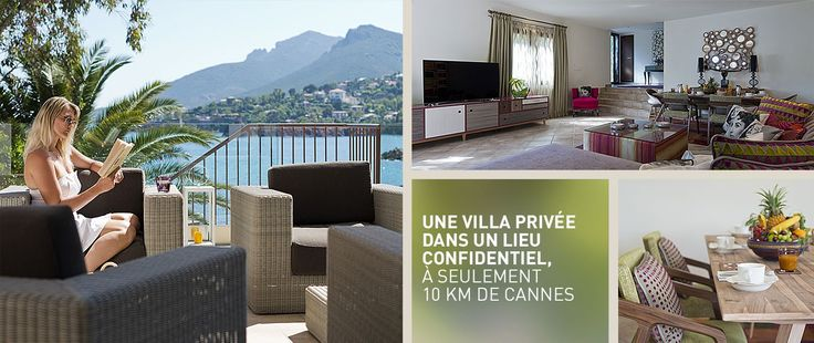 Location villa cannes theoule