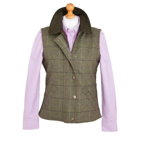 Hoggs of Fife Calendonia ladies tweed waistcoat #hoggsoffife #tweedwaistcoat #countryclothing   http://www.ardmoor.co.uk/hoggs-caledonia-ladies-tweed-waistcoat-hog-cal-wct