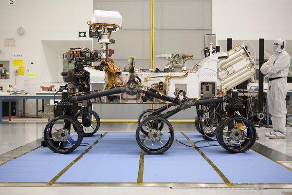 Звуки Марса услышат люди в 2021 году / Интересный космос