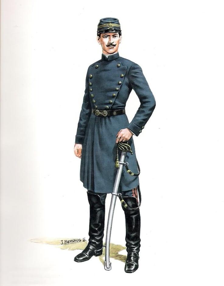 Teniente de Artilleria (1852)