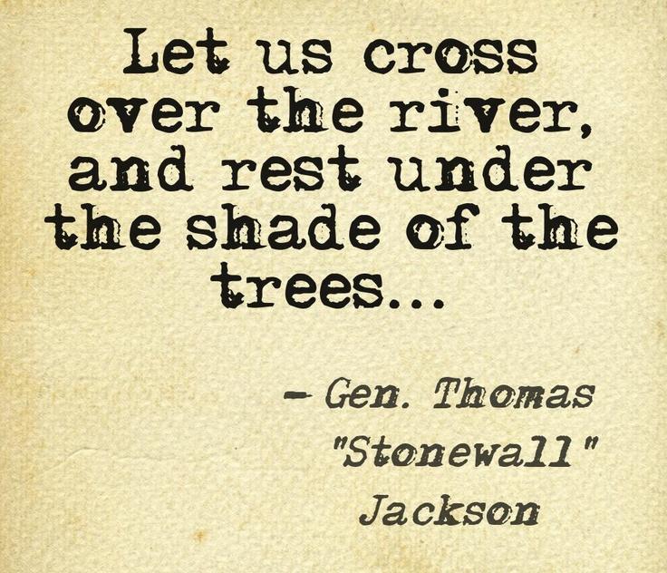 Jackson's Last Words