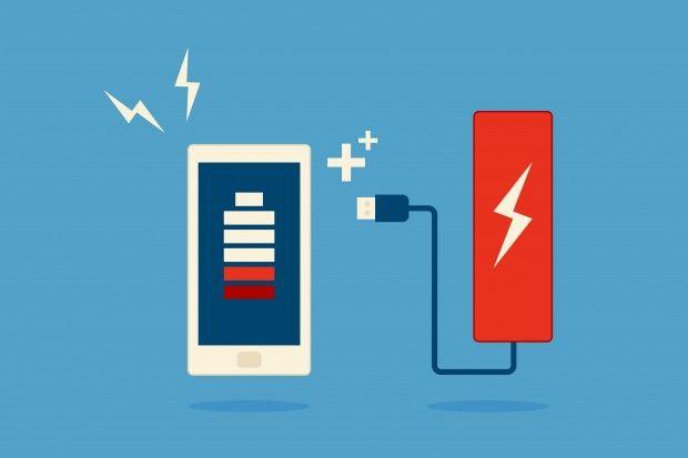 スマホでスマホを充電する、電力リサイクル充電器