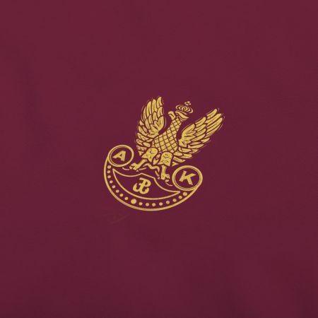 Koszulka patriotyczna Orzełek Armii Krajowej - Kolekcja Dyskretna - bordowy - odzież patriotyczna, koszulki męskie Red is Bad