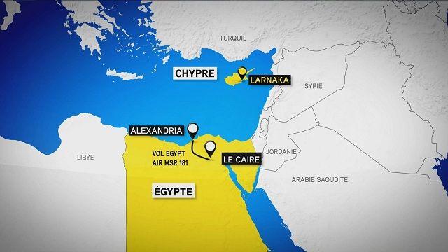 Détournement de l'avion d'Egypt Air : le pirate arrêté, aucune victime à déplorer