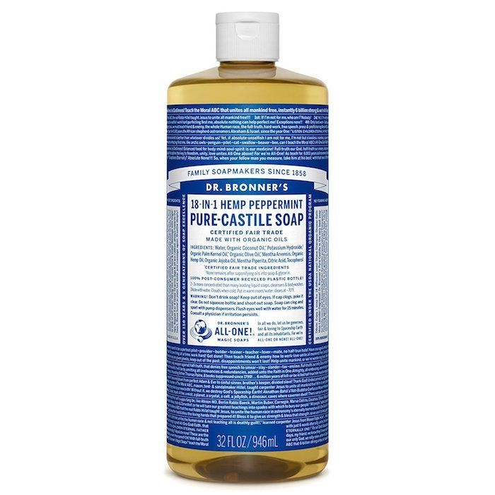 The 16 Most Overlooked Beauty Brands At The Drugstore Pure Castile Soap Castile Soap Peppermint Soap