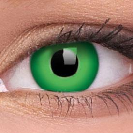 Lentille de couleur vert