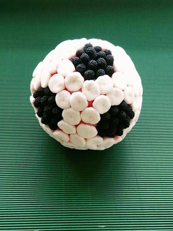 Balones de fútbol o baloncesto de chuches