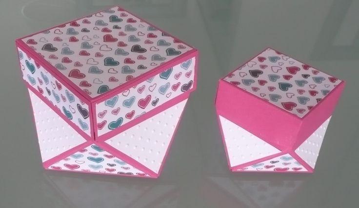 Eine Diamantbox in wenigen Minuten selbst gebastelt mit der entsprechenden Anleitung dazu. ✓ Einfach, ✓ Schnell und ✓ mit Vorlage.