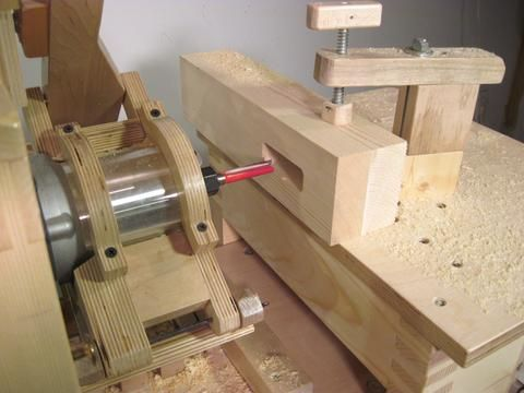 Making Large Mortise And Tenon Joints With The Pantorouter Mortise Tenon Wood Turning