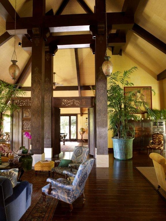 Martyn Lawrence Bullard InteriorsDecor Ideas, Favorite Places, Livingroom, Dreams House, Living Room, Martyn Lawrencebullard, British Colonial, Wood Beams, Martyn Lawrence Bullard