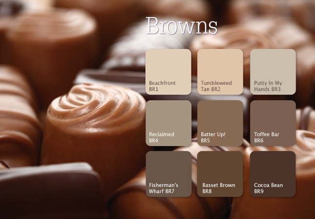 Rooted in nature, brown shades evoke a nurturing, stable source of life. Deep, rich tones have a substantial presence that can appear both stately and approachable. The lighter beige family creates an unpretentious, comfortable look with a warm, modern edge. #inspiration #color