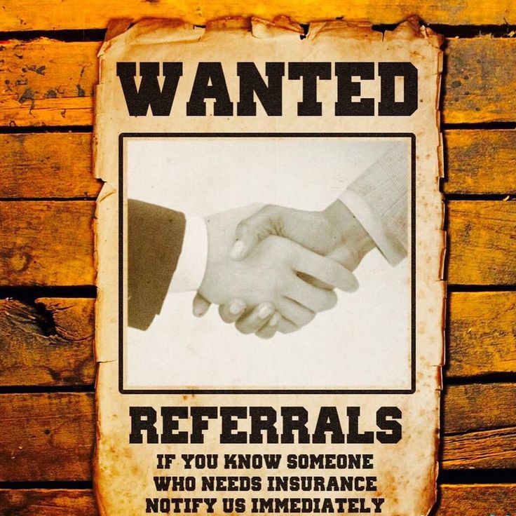 Seeking referral partners for our business. Contact us directly at Reliance Partners Horsham