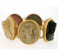 Victorian Cameo Bracelet