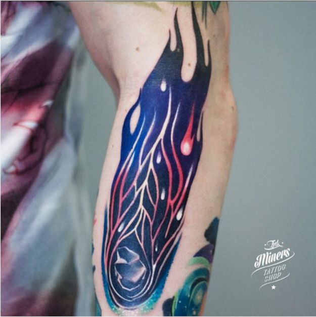 1000+ Images About Comet Tattoo On Pinterest