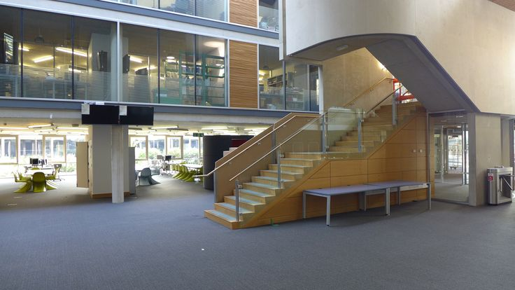 Look at the size of our atrium!