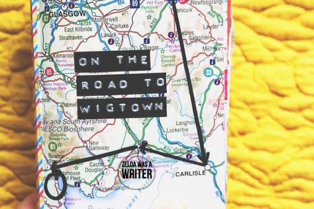 ScrapZelda: ON THE ROAD to WIGTOWN | Zelda was a writer
