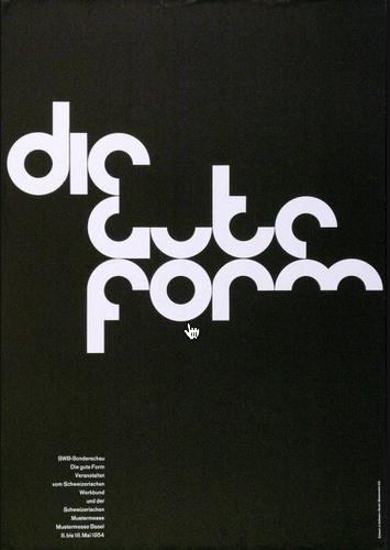 Die Gute Form     Design – Armin Hofmann