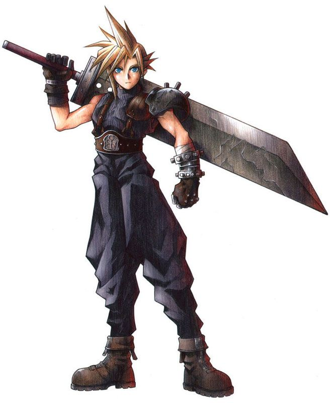 Original Cloud Strife - Final Fantasy VII