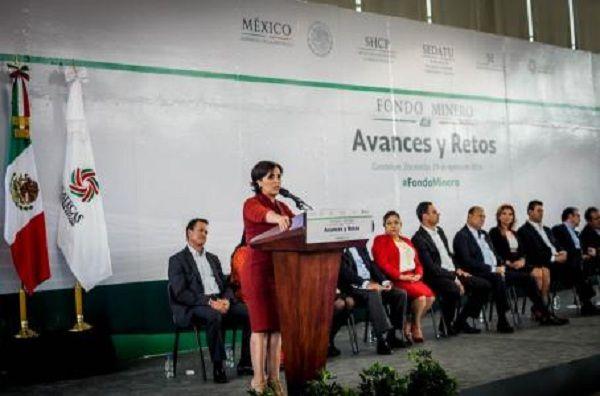 Rosario Robles encabeza retos de Programa Fondo Minero