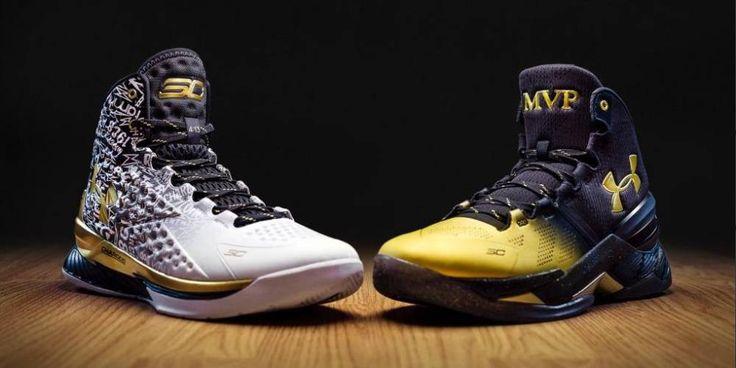 Under Armour: homenaje al MVP de Curry con estas zapatillas