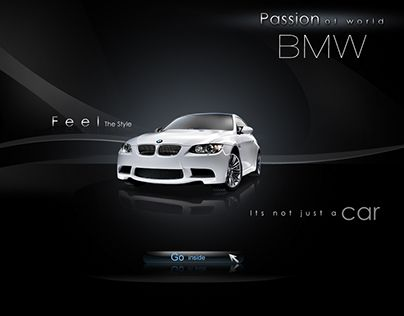 """Check out new work on my @Behance portfolio: """"BMW Homepae"""" http://on.be.net/1O7Bg0p"""