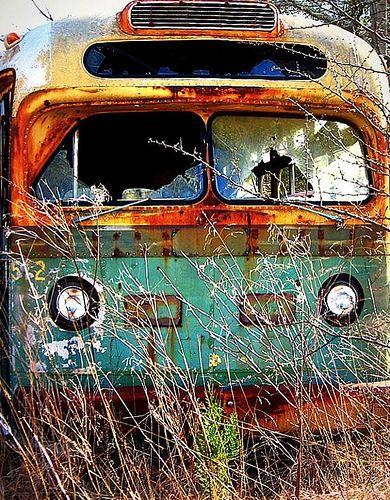 magic bus: Abandoned Bus, Abandoned Hippie, Hippie Bus, Hippie Stuff, Abandoned Rusty, Abandoned Beautiful, Rusty Bus, Abandoned Places, Abandoned Riding
