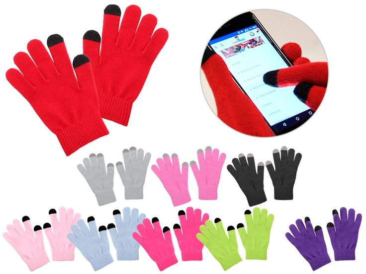 Coole Smartphone Handschuhe zum günstigen Preis auf trendmaus.de
