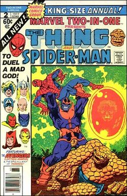 Marvel Two-in-One - More classic Marvel comics that I enjoyed as a kid- Wikipedia, the free encyclopedia