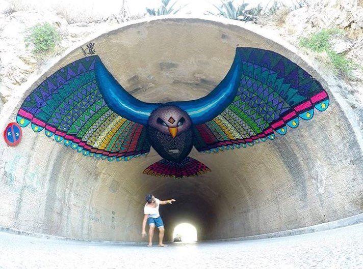 Los dejamos con esta obra del buen @spaik45 en #ibiza feliz lunes a todos ❤️🇲🇽✌🏼#streetartmexico #graffitimexico #streetartchilango #mexico #mexico🇲🇽 #mexicolors #mexicourbano #mexicomagico #españa #spain #streetart #streetarts #streetartistry