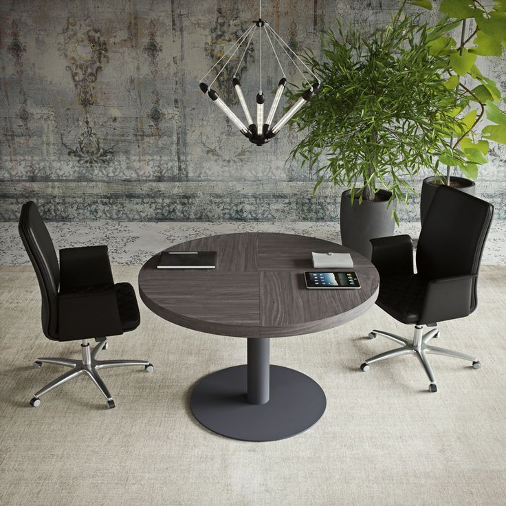 SESSANTA executive office round meeting table by Prof Office