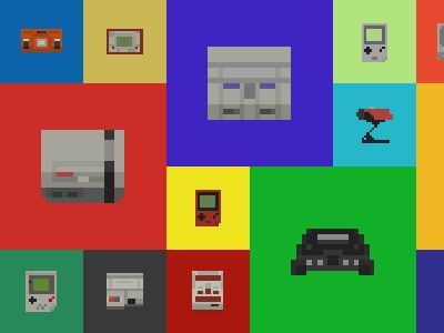 Nintendo Console Sprites by John Schlemmer - Dribbble