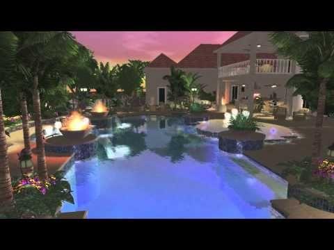 34 best 3D Pool Design Portfolio images on Pinterest   Design ...