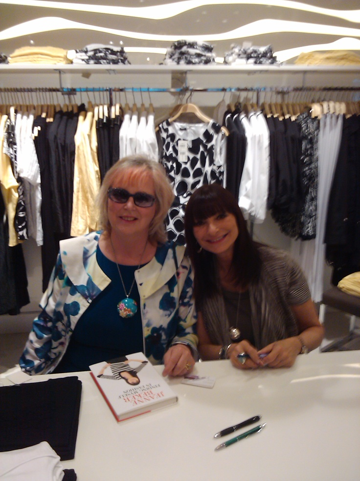 Norma Shephard and Jeanne Beker, Burlington, On.