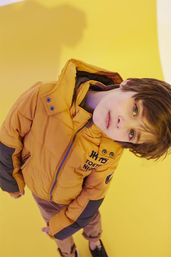 Moda niños IKKS: chaqueta acolchada