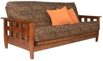 Guest room: add a big futon couch