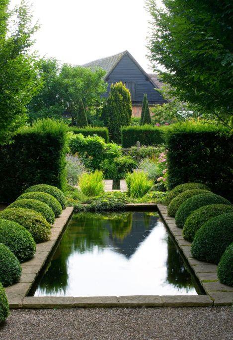 Pool Water Pond element #gardens #gardendesign #landscapes