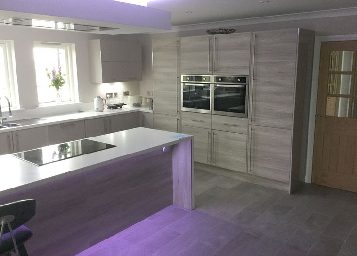 kitchen mood lighting. Ambient Mood Lighting Is An Inviting Feature In This Beautiful Airy Kitchen By \u0027The R