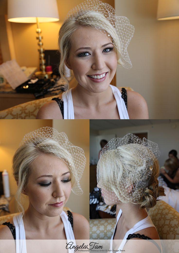 MARRIOTT GLENDALE WEDDING MAKEUP ARTIST   HEATHER – VINTAGE GLAM BRIDE   ANGELA TAM >> WEDDING MAKEUP AND HAIR TEAM