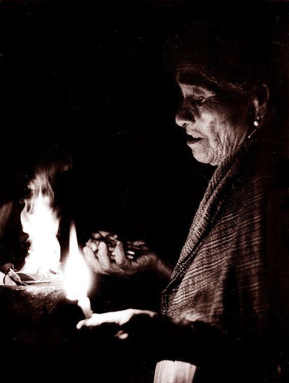 Maria Sabina, a Mexican curandera, a photo by David Ryan on Etsy