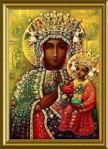 Black Madonna at Holy Ghost Catholic Church in Jackson MS
