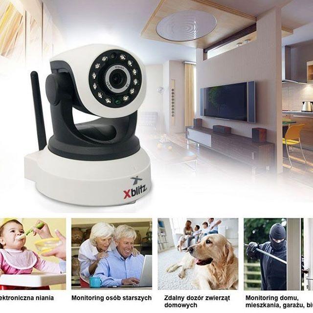 Kamera Xblitz iSee to fajne rozwiązanie dla osób, które potrzebują taniego i prostego narzędzia do monitorowania. http://bit.ly/2tYZqpX  #bispro24 #cctv #monitoring