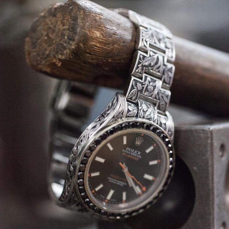 Fin Des Temps X Huckleberry LTD Customize Rolex Milgauss.