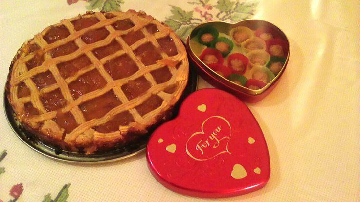 Christine's delicious apricot pie