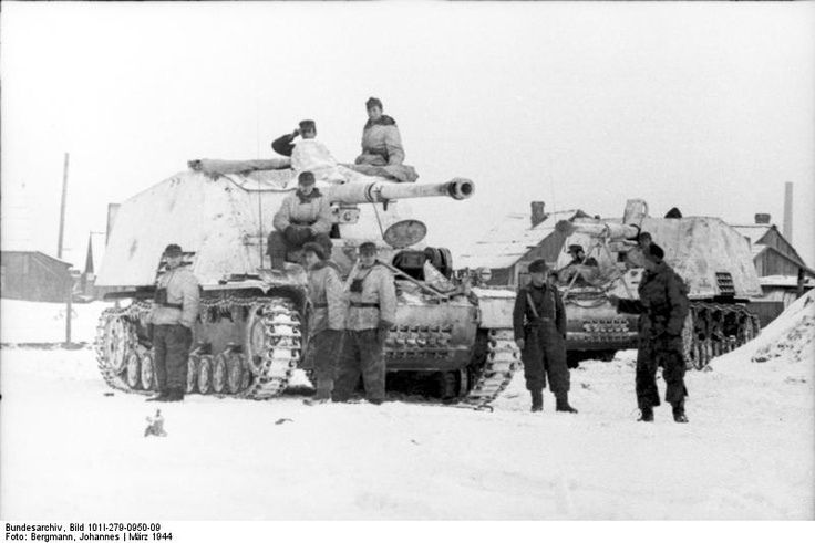 https://flic.kr/p/eZWYg8   Nashorn-Hornisse   Eastern Front, 1944: German tank buster Jagdpanzer Nashorn-Hornisse (Rhinoceros). The tank buster was first issued in the summer of 1943 to 655t.schwere Panzerjägerabteilung (tank destroying detachment). Five more such detachments were formed and armed with the Rhinoceros. The vehicle was armed with the PaK 88mm 43, a powerful weapon against all Allied tanks.