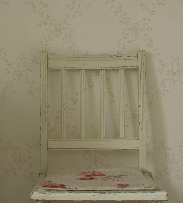 Design Classic | Vintage | Toile Trellis Wallpaper by Farrow & Ball | Jane Clayton