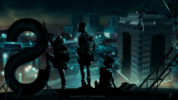 ArtStation - From the Rooftop, Dicky Jiang