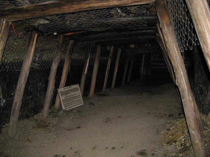 El Chiflón del Diablo, la mina en Lota. // The Devil's Whistle mine in Lota. (VIII Región)