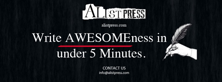 ALISTPRESS Write AWESOMEness in under 5 Minutes.