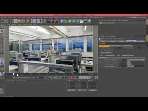 Cinema 4D tutorial Captura de movimiento ó Motion Tracking - YouTube