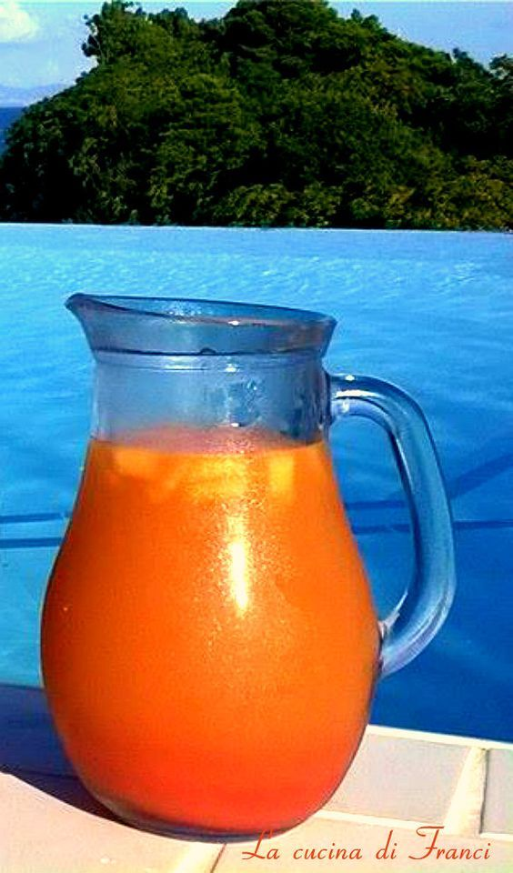 #estate 2014 Cocktail analcolico alla frutta ananas,papaya e fragole